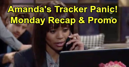 The Young and the Restless Spoilers: Monday, December 9 Recap – Amanda's Tracker Panic - Abby Confesses - Mariah Infuriates Summer