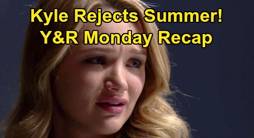 The Young and the Restless Spoilers: Monday, January 27 Recap – Summer Humiliated, Rejected After Kyle Kiss – Amanda Ends Billy Friendship
