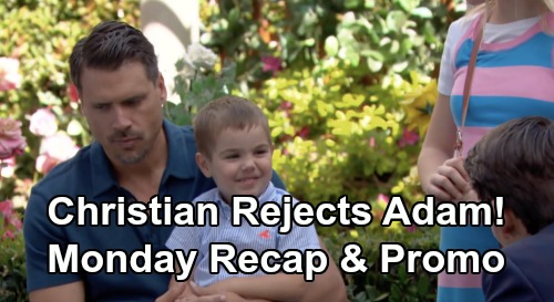The Young and the Restless Spoilers: Monday, July 15 Recap – Christian Rejects Adam – Lola's Discovery Brings Shocking Threat