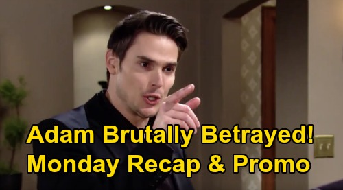 The Young and the Restless Spoilers: Monday, March 9 Recap – Victor Brutally Betrays Adam, Makes Nick CEO – Chelsea Vows Revenge