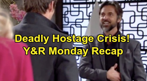 The Young and the Restless Spoilers: Monday, November 11 Recap – 'Chadam' Family Hostage Crisis – Chance's Simon Sting Operation