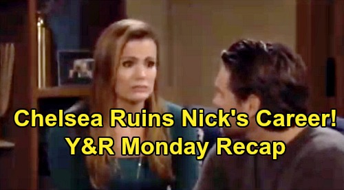 The Young and the Restless Spoilers: Monday, November 18 Recap – Chelsea's Disastrous Confession Ruins Nick's Career – Phyllis Stonewalled