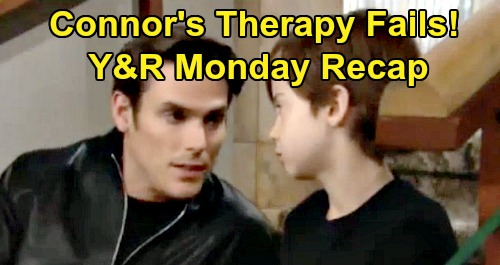 The Young and the Restless Spoilers: Monday, November 18 Recap – Connor's Therapy Fails - Raging Devon Threatens Cane – Chance's New Mission