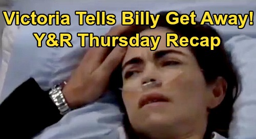 The Young and the Restless Spoilers: Thursday, February 27 Recap – Victoria Awakens, Tells Billy to Get Away from Her – Abby's Hotel Curse