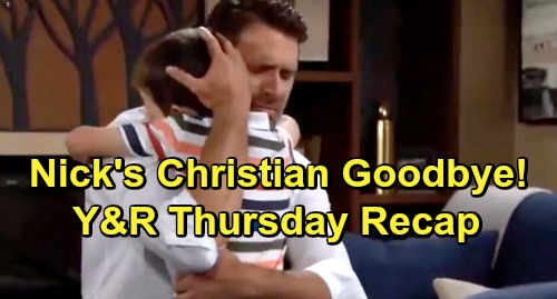 The Young and the Restless Spoilers: Thursday, July 25 Recap – Billy Admits Adam Murder Fantasy – Nick Heartbreaking Christian Goodbye