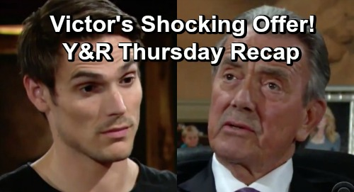 The Young and the Restless Spoilers: Thursday, June 13 Recap – Victor's Dying News Rocks Kids – Adam Gets Shocking Offer