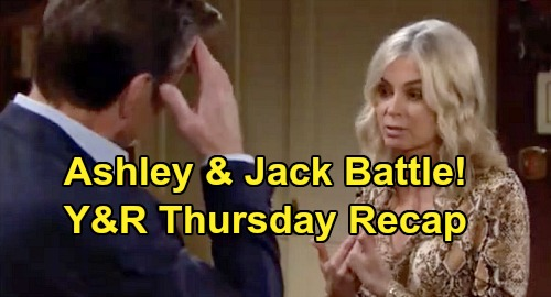 The Young and the Restless Spoilers: Thursday, November 14 Recap – Jack and Ashley Battle Over Theo's Future – Chance Charms Abby