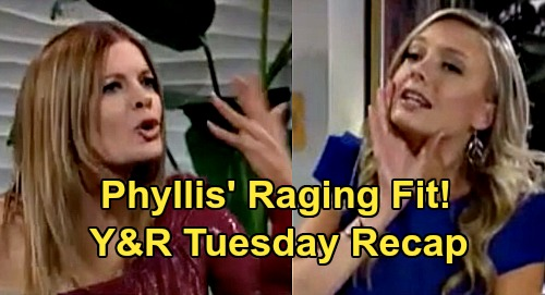 The Young and the Restless Spoilers: Tuesday, April 7 Recap – Phyllis Raging Fit - Kyle Starts Theo Fight - Victor Claims Innocence