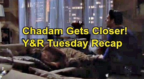 The Young and the Restless Spoilers: Tuesday, December 3 Recap – Storm Hits, Victoria Trapped with Rey – Blackout Brings 'Chadam' Closer