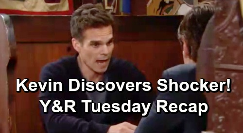 The Young and the Restless Spoilers: Tuesday, June 25 Recap – Victor Reveals Adam's Secret – Kevin's Horrific Nick Discovery