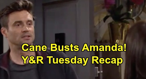 The Young and the Restless Spoilers: Tuesday, November 12 Recap – Chance Sneak Attack Stops Simon – Cane Suspects Amanda Was Locked Up
