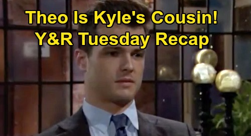 The Young and the Restless Spoilers: Tuesday, October 29 Recap – Kyle Gets Cousin Theo Proof – Victor Gives Billy Grim Warning