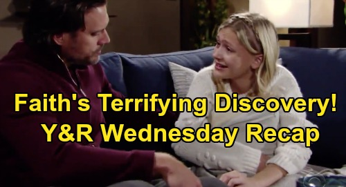 The Young and the Restless Spoilers: Wednesday, January 15 Recap – Faith's Devastating Sharon Discovery – Theo Stirs Up Big Jealousy