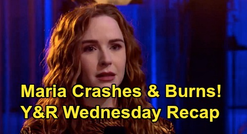 The Young and the Restless Spoilers: Wednesday, March 18 Recap – Mariah Crashes & Burns with Tessa – Summer Learns 'Phick' Secret