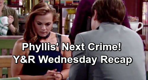 The Young and the Restless Spoilers: Wednesday, May 15 Recap – Traci's Crush On Cane - Phyllis' Criminal Plan – Paternity Test Done