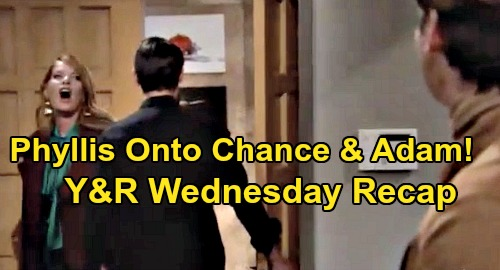 The Young and the Restless Spoilers: Wednesday, November 13 Recap – Phyllis Onto Adam and Chance – Ashley's Move Enrages Jack