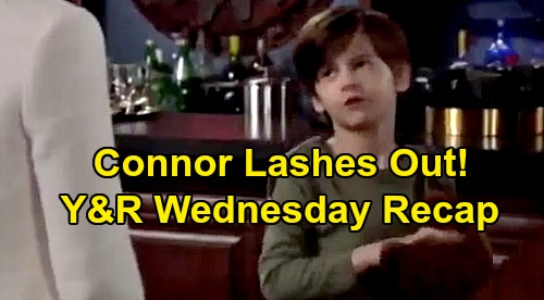 The Young and the Restless Spoilers: Wednesday, October 2 Recap - Nick's In Trouble - Connor Lashes Out - Adam Loses Last Supporter
