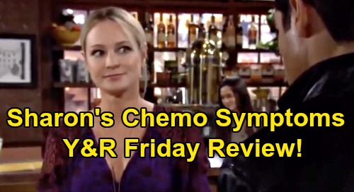 The Young and the Restless Spoilers: Friday, February 14 Review - Sharon Battles First Chemo Symptoms - Phyllis Hears Who Adam Killed
