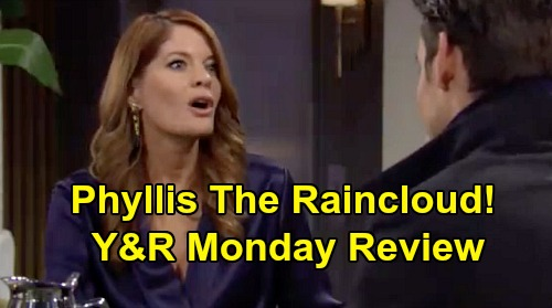 The Young and the Restless Spoilers: Monday, February 17 Review - Phyllis Tells Chelsea Adam Going To Prison - Lola Plays The Hero