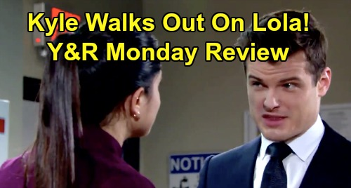 The Young and the Restless Spoilers: Monday, January 20 Review - Phyllis Sabotages Abby's Date - Kyle Decks Theo, Walks Out On Lola