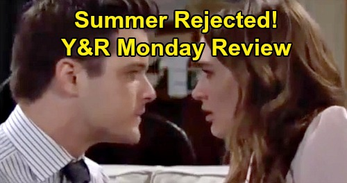 The Young and the Restless Spoilers: Monday, January 27 Review - Someone Snaps Photos of Billy & Amanda - Kyle Rejects Summer After Kiss