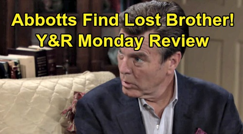 The Young and the Restless Spoilers: Monday, October 28 Review - Traci & Jack Find Lost Brother Eric Vanderway - Billy & Adam's Truce
