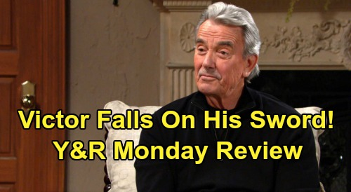 The Young and the Restless Spoilers: Tuesday, November 19 – Victor Falls on His Sword, Amanda Battles for Nate – Phyllis the Super Sleuth