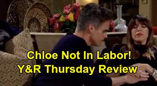 The Young and the Restless Spoilers: Thursday, March 5 Review - Sharon Terrible Chemo Side-Effects - Chloe Not In Labor - Billy Wants More With Amanda