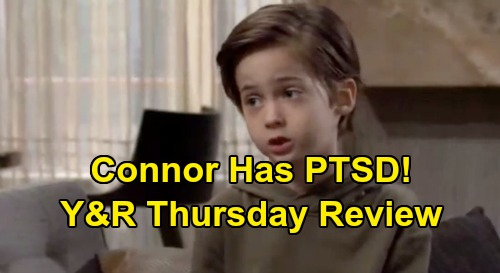 The Young and the Restless Spoilers: Thursday, November 28 Review - Connor Has PTSD - Colin and Cane Will Scam Outcome