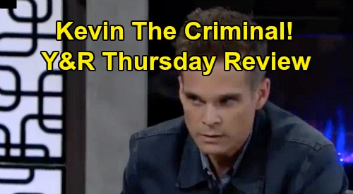 The Young and the Restless Spoilers: Thursday, October 3 Review - Chelsea Freezes Nick Out - Kevin Cleans Dirty Money