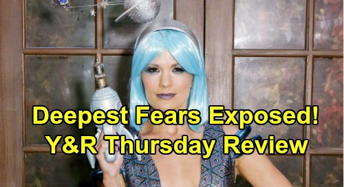 The Young and the Restless Spoilers: Thursday, October 31 Review - Halloween Nightmares Reveal GC Residents' Deepest Fears
