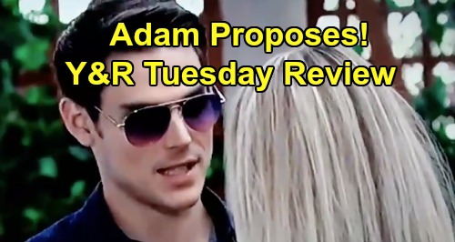 The Young and the Restless Spoilers: Tuesday, August 20 Review - Zoe Poised To Cause Trouble For Kola - Adam Proposes To Sharon