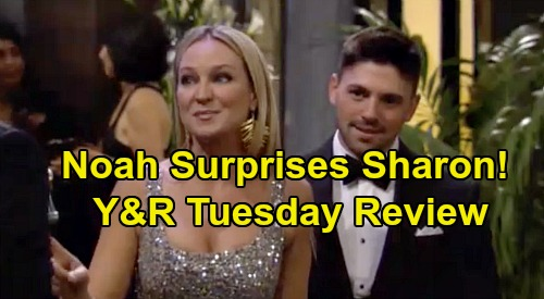 The Young and the Restless Spoilers: Tuesday, February 18 Review - Phyllis Grabs Chelsea's Hotel Stake - Noah Surprises Sharon At Gala