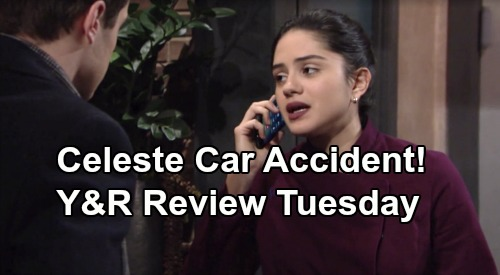 The Young and the Restless Spoilers: Tuesday, January 28 Review - Celeste Car Accident News - Theo Gets Ammo Against Kyle & Summer