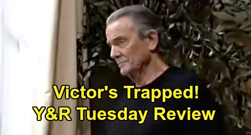 The Young and the Restless Spoilers: Tuesday, March 31 Review - Adam Tells Chelsea 'We Got Victor' - Dina's Theo Moment