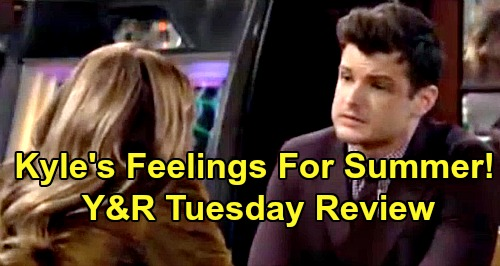 The Young and the Restless Spoilers: Tuesday, October 8 Review - Kyle Clearly Still Has Feelings For Summer - Phyllis Finds Adam