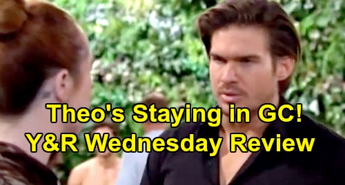The Young and the Restless Spoilers: Wednesday, August 21 Review - Abby Prepares For Big Hotel Fight - Theo's Staying In GC