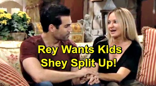 The Young and the Restless Spoilers: Shey Moves In Together - But Rey's Desire For Kids Tears Them Apart