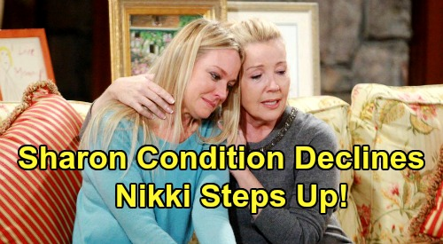 The Young and the Restless Spoilers: Sharon's Condition Declines - Nikki Steps Up For Heartbreaking Battle - Cancer Secret Spreads