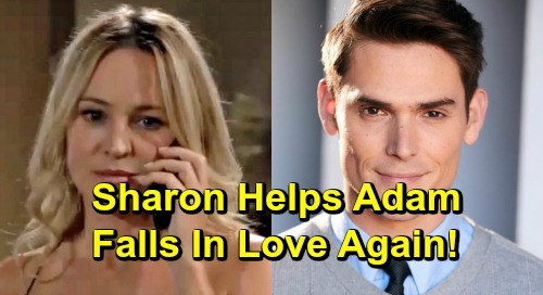 10a98f1f3 The Young and the Restless Spoilers: Shadam Blooms Again, Sharon Falls In  Love With