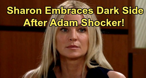 The Young and the Restless Spoilers: Sharon Embraces Dark Side After Adam Shocker – Refuses to Fight Shadam Passion Any Longer