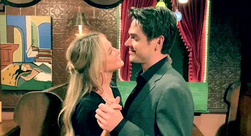 The Young and the Restless Spoilers: Sharon Case Reacts to Mark Grossman's Adorable Behind-the-Scenes Video – Fun Shadam Slow Dance