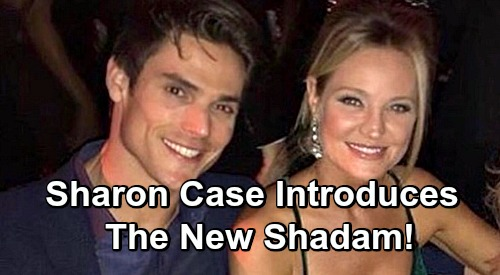 the young and the restless spoilers sharon case newman adam mark grossman yr shadam