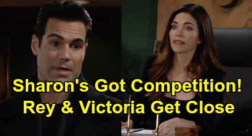 The Young and the Restless Spoilers: Sharon's Got Competition, Rey Grows Closer to Victoria – 'Vey' on the Way?
