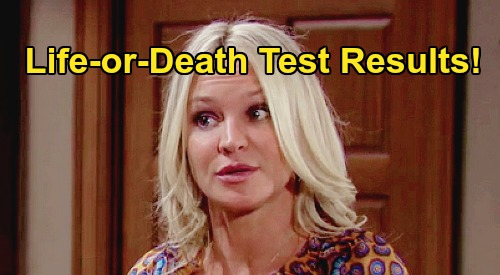 The Young and the Restless Spoilers: Sharon Life-or-Death Test Results – Braces For The Worst, Pushes 'Team Sharon' Away