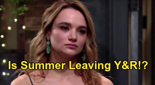 The Young and the Restless Spoilers: Hunter King Scores Lead Role in Primetime Pilot – Is Summer Newman Leaving Y&R?