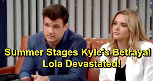 The Young and the Restless Spoilers: Summer's Perfect Cheating Storm – Schemer Stages Kyle's Betrayal, Lola Devastated