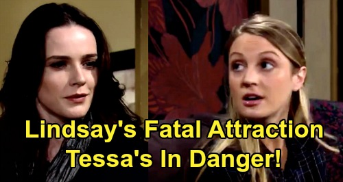 The Young and the Restless Spoilers: Mariah's Cheating Nightmare - Tessa Victim of Lindsay's Fatal Attraction Obsession?