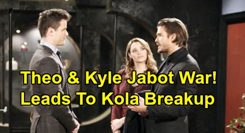 The Young and the Restless Spoilers: Countdown to Kyle and Lola's Marriage Destruction – Jabot War with Theo Ends in Disaster?