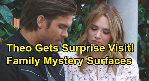 The Young and the Restless Spoilers: Theo's Surprise Family Visit From Eric Vanderway - Lied To Summer About Father's Death?